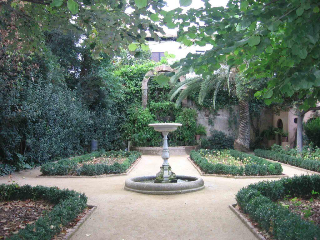 El jardí de la Tamarita
